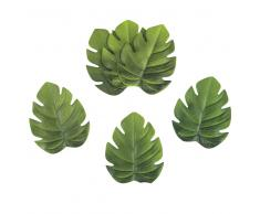 6 posavasos de hojas