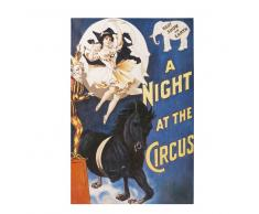 Lienzo con un circo pintado 80x120