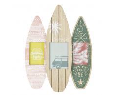 Marco multivistas surf para 3 fotos 42x55