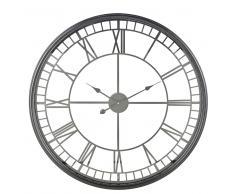 Reloj de metal negro D.86