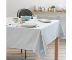 Mantel de algodón gris 150x250 cm OPALE