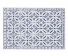 Mantel individual de vinilo con motivos decorativos de azulejos de cemento