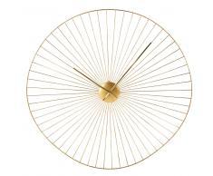Reloj de alambre dorado D.80