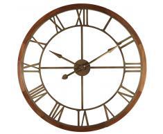 Reloj de metal color bronce D.90