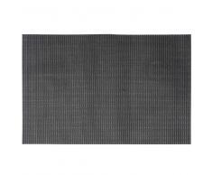 Mantel de mesa de PVC negro