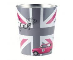 Papelera British chica