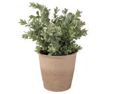 Planta artificial de boj con maceta