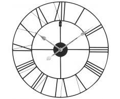 Reloj negro de metal D.60