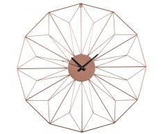 Reloj de metal cobrizo D.80