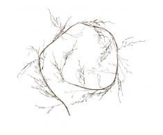 Guirnalda de navidad con ramas nevadas L.152