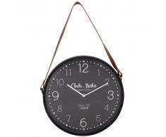 Reloj negro y marrón D.33