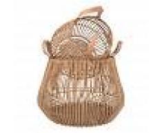 Maisons du Monde 2 cestas de ratán