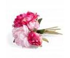 Maisons du Monde Ramo de peonías artificiales rosas Al. 25 cm GLADYS