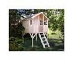 Caseta infantil de madera Toby 2,1 m² - Palmako