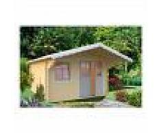 Caseta de madera Sally 12,3 m² - Palmako