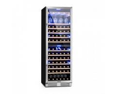 Klarstein Vinovilla Grande Duo Nevera para vinos de gran interior 425l 165 botellas 3 colores Puerta de cristal