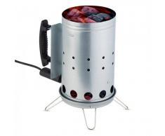 Klarstein Fegefeuer Encendedor de carbón eléctrico Iniciador de barbacoa 350 W Acero inoxidable