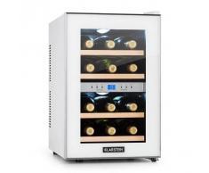Klarstein Reserva Vinoteca 34l 2 zonas 12 botellas 7-18 °C blanca