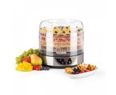 Klarstein Fruitower D Deshidratador automático con temporizador 35-70ºC 5 estantes 200-240W