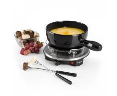 Klarstein Sirloin Raclette con fondue Olla de cerámica 1200W negro