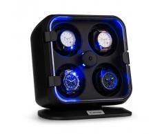 Klarstein Clover Estuche para 4 relojes 3 rotaciones 4 velocidades LED