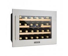 Klarstein Vinsider 24D Refrigerador de vinos vinoteca para 24 botellas de acero
