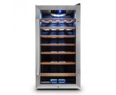 Klarstein Vivo Vino nevera para vino refrigerador vino 26 botellas LED negro