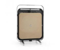 Klarstein HeatPal Marble Blackline Radiador por infrarrojos 1300W Mármol Aluminio