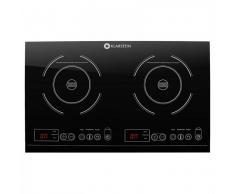 Klarstein VariCook XL Placa de inducción doble 3100W Temporizador 240°C Táctil