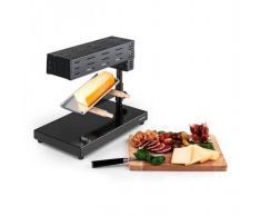 Klarstein Appenzell 2G Raclette con parrilla tradicional 600 W negra