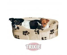 Trixie Cuna para perros y gatos Charly forro peluche : Color Negro, Cms 43x38
