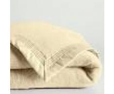 LA REDOUTE INTERIEURS Manta 100% lana virgen Woolmark 600 g/m² BLANCO