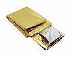 Manta térmica oro / plata (HASTA FIN DE EXISTENCIAS)
