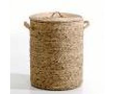 AM.PM Cesto redondo de jacinto de agua Al. 60 cm, Lian BEIGE