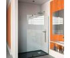 Mampara de ducha frontal con una hoja fija y una hoja abatible-St- Orlando-Doccia