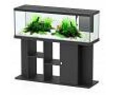 Aquatlantis Acuario con armario Style 150 x 45 LED - negro