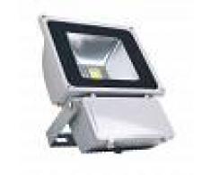 LEDBOX Proyector led de exterior microled 80w blanco cálido