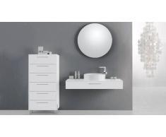 MobilierMoss Mueble de baño completo con lavabo Vecchio