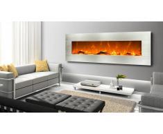 MobilierMoss Chimenea eléctrica con marco de acero inoxidable - Kaminox Luxury