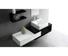 MobilierMoss Mueble de baño completo con lavado simple 150 cm Carmen
