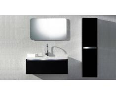 MobilierMoss Mueble de baño completo con lavado simple 110 cm Calypso
