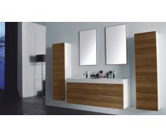 MobilierMoss Mueble de baño completo con lavabo double Ortense