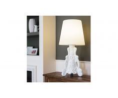 MobilierMoss Lámpara de mesa barroca de polietileno Slide - Lady of love