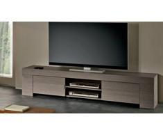 MobilierMoss Mueble TV moderno 190 cm de madera Olgano