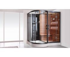 MobilierMoss Cabina hydromasaje baño turco y sauna - Lara