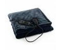Klarstein Dr. Watson XL Manta eléctrica 120 W lavable 180x130cm micro fibra gris