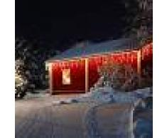 Blumfeldt Dreamhouse Guirnalda luminosa 24m 480 LED blanco cálido Snow Motion