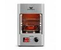Klarstein Steakreaktor 2.0 acero inoxidable - barbacoa para interior 1600W 850ºC