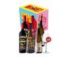 Vino de España Pack Democratic Wines (6 bot. + 6 copas)
