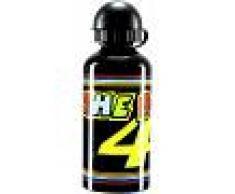VR46 Classic Botella de agua Negro Amarillo un tamaño